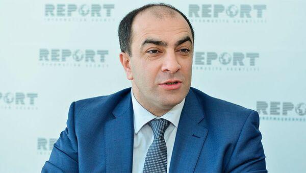 Председатель Объединенного конгресса азербайджанцев Украины Ровшан Тагиев - Sputnik Азербайджан