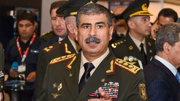 Müdafiə naziri general-polkovnik Zakir Həsənov - Sputnik Azərbaycan