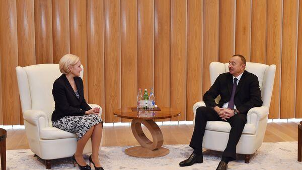 Ильхам Алиев принял делегацию, возглавляемую заместителем председателя Правительства России - Sputnik Азербайджан