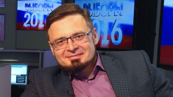 Российский политолог Павел Клачков - Sputnik Азербайджан