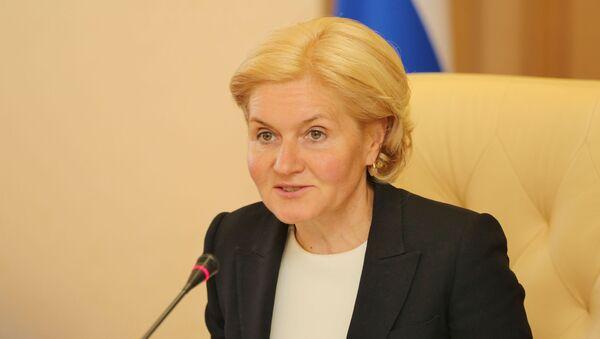 Вице-премьер правительства Ольга Голодец - Sputnik Азербайджан