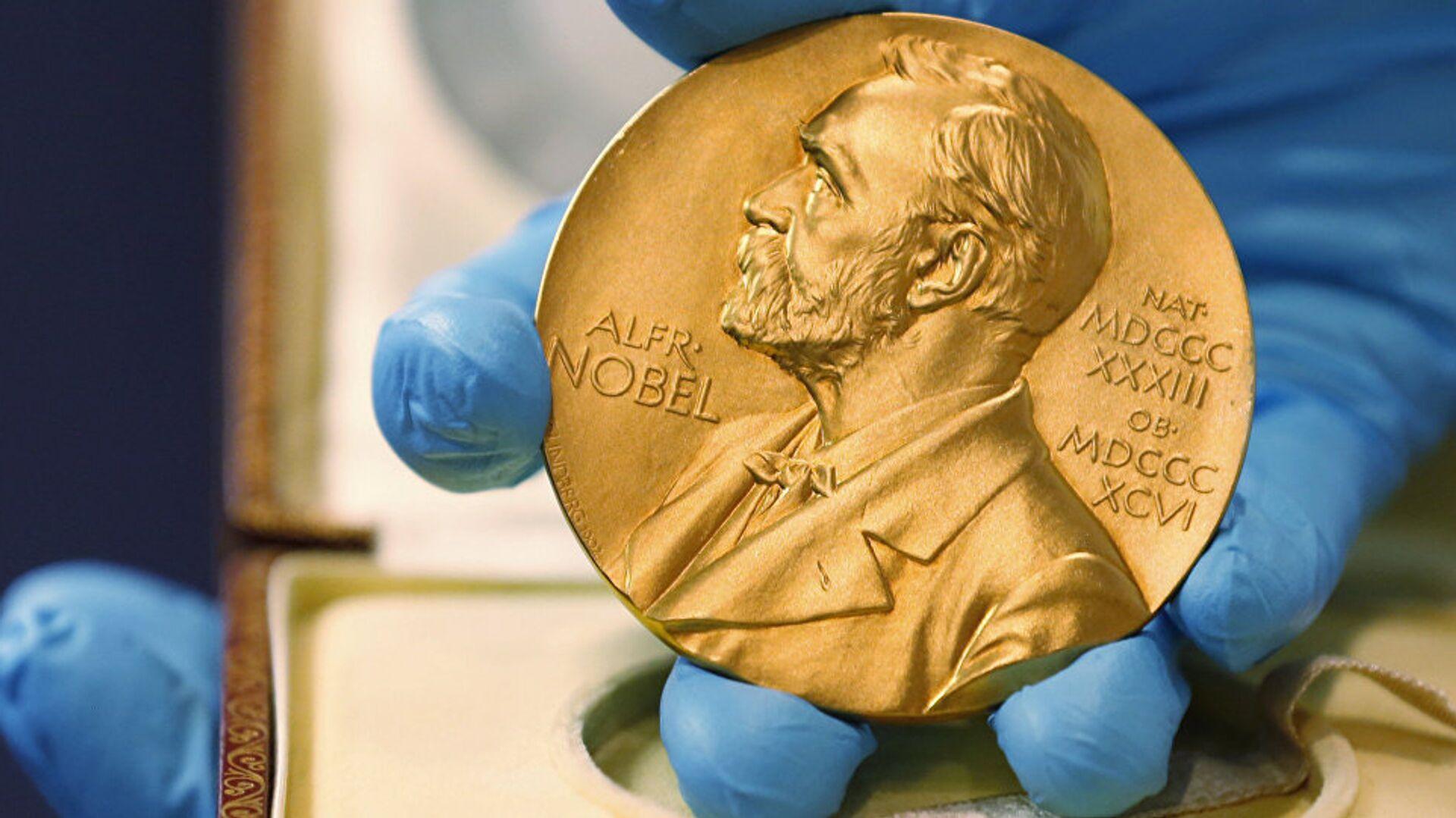 Нобелевская премия, фото из архива - Sputnik Азербайджан, 1920, 05.10.2021