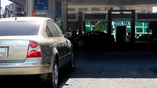 Автозаправочная станция, фото из архива - Sputnik Азербайджан