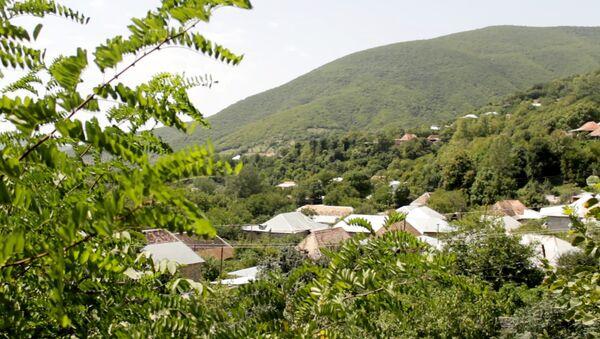 Село Киш Шекинсого района, фото из архива - Sputnik Азербайджан