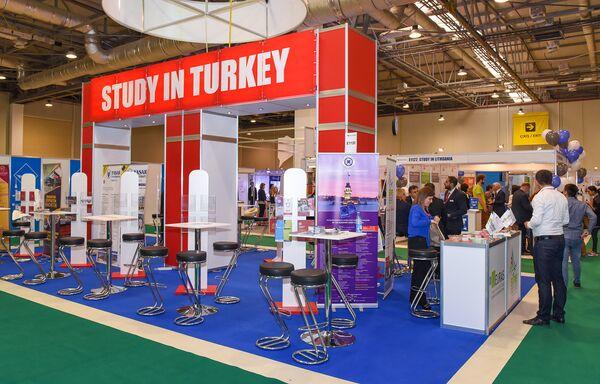 10-я юбилейная Азербайджанская международная выставка Образование - Sputnik Азербайджан