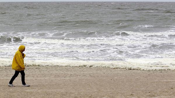 Вид на Северное море с бельгийского побережья - Sputnik Азербайджан