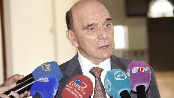 Член азербайджанской делегации в ПАСЕ Эльхан Сулейманов - Sputnik Азербайджан
