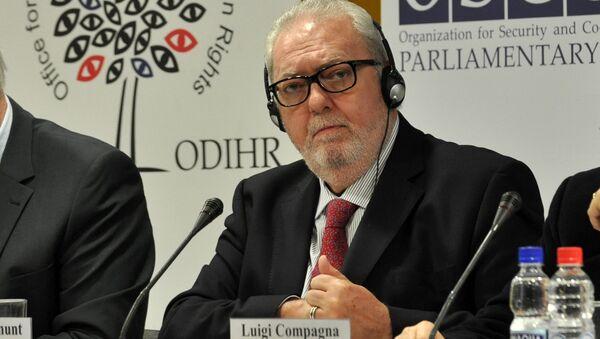 Председатель Парламентской ассамблеи Совета Европы (ПАСЕ) Педро Аграмунт - Sputnik Азербайджан