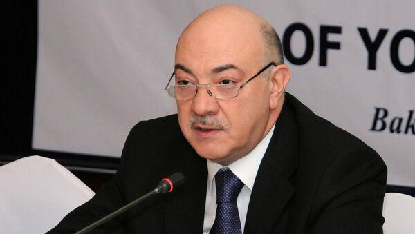 Заведующий отделом по работе с правоохранительными службами Администрации президента АР Фуад Алескеров - Sputnik Азербайджан