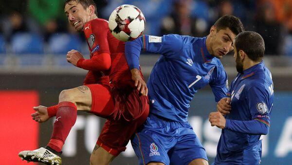 Футбольный матч Чехия-Азербайджан - Sputnik Азербайджан