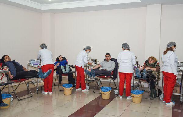 День Ашуры в столичной мечети Тезепир - Sputnik Азербайджан