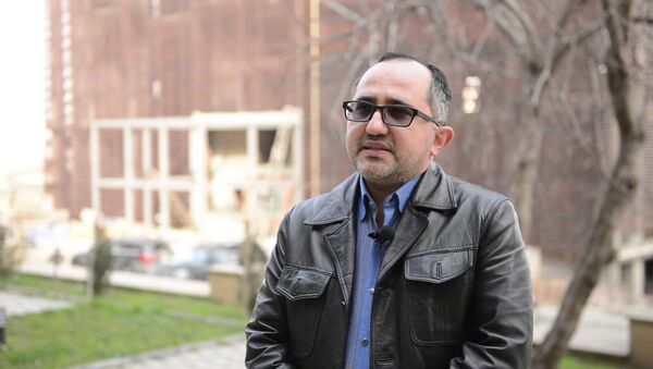 Акрам Гасанов, архивное фото - Sputnik Азербайджан