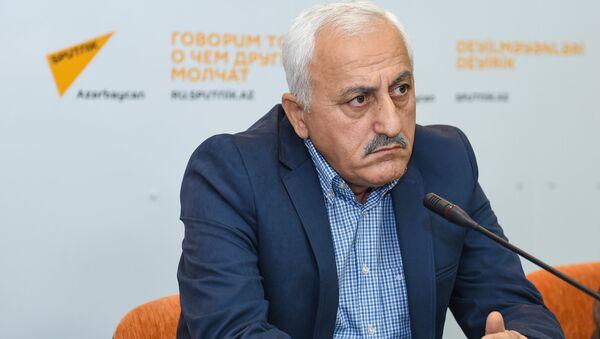 Глава Центра регионального развития АР Чингиз Исмаилов в Мультимедийном пресс-центре Sputnik Азербайджан - Sputnik Азербайджан
