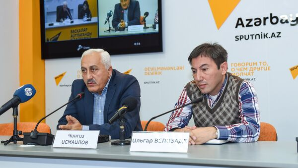 Bakı-Astana video-körpüsü - Sputnik Azərbaycan