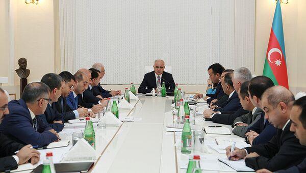 Расширенное заседание коллегии в Министерстве экономики Азербайджана - Sputnik Азербайджан