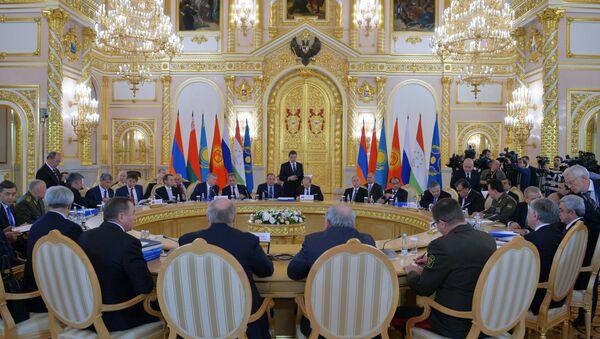 Заседание Совета коллективной безопасности ОДКБ в расширенном составе, 23 декабря 2014 - Sputnik Азербайджан