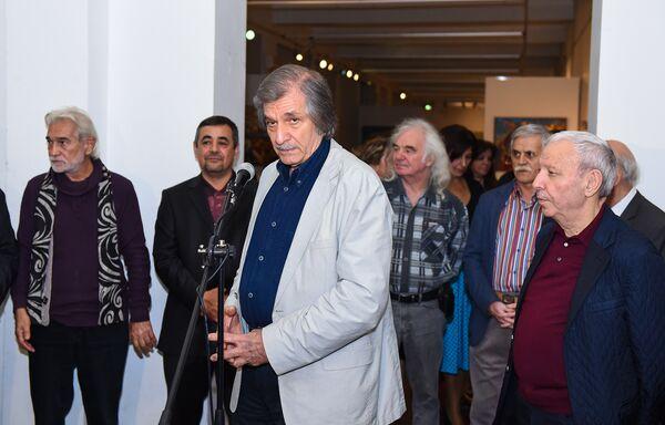 Выставка Интигама Агаева Мои воспоминания - Sputnik Азербайджан