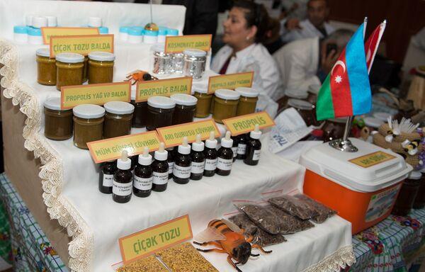 Ярмарка меда в Баку - Sputnik Азербайджан