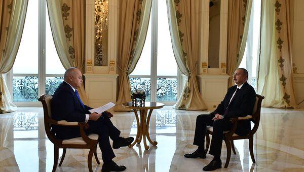 Интервью президента Азербайджана Ильхама Алиева директору МИА Россия сегодня Дмитрию Киселеву - Sputnik Азербайджан