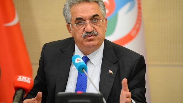 Председатель правящей Партии справедливости и развития Турции Хаяти Язычы - Sputnik Азербайджан