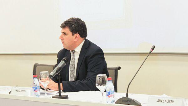 Председатель правления БФБ Фариз Азизов - Sputnik Азербайджан