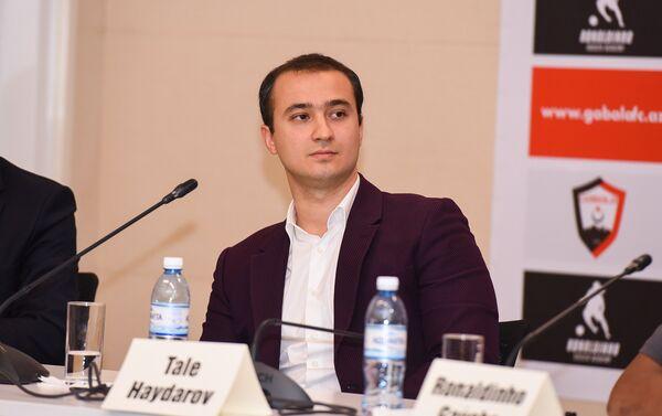 Руководитель спортивного клуба Габала Тале Гейдаров - Sputnik Азербайджан