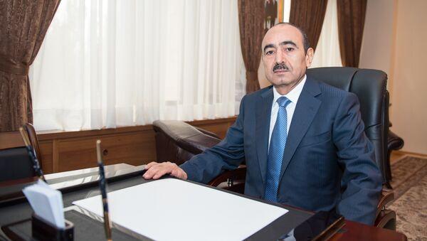 Помощник Президента Азербайджана по общественно-политическим вопросам Али Гасанов, фото из архива - Sputnik Азербайджан
