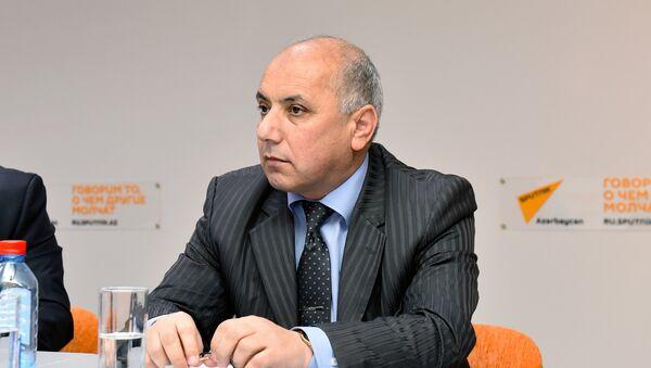 Azərbaycan Əlil Təşkilatları İttifaqının sədri Davud Rəhimli - Sputnik Azərbaycan