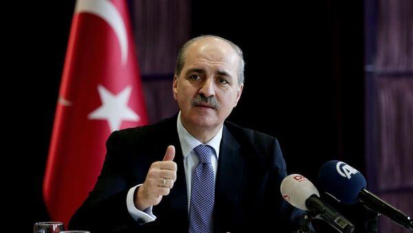 Türkiyə baş nazirinin müavini Numan Kurtulmuş - Sputnik Azərbaycan