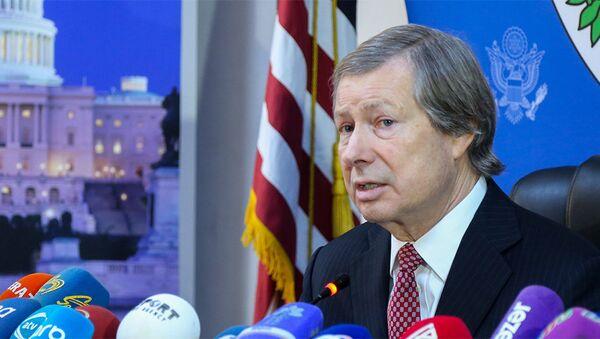 Американский сопредседатель Минской группы ОБСЕ Джеймс Уорлик - Sputnik Азербайджан