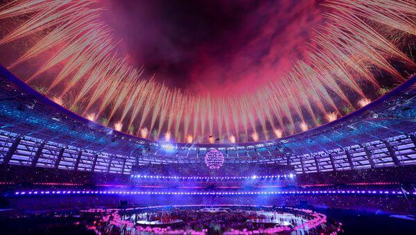 Церемония закрытия I Европейских игр – Баку, 28 июня 2015 года - Sputnik Азербайджан