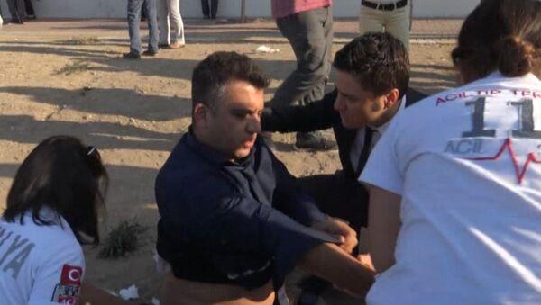 Пострадавшим от взрыва в Анталье медики оказали первую помощь - Sputnik Азербайджан