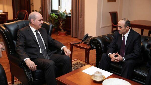 Помощник президента АР встретился с вице-премьером Турции - Sputnik Азербайджан