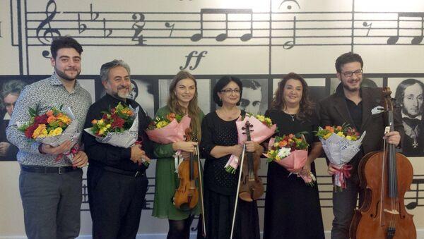 ADA-da konsert - Sputnik Azərbaycan