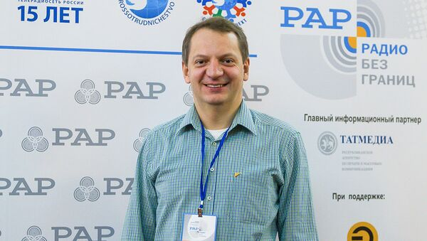 Руководитель радиовещания на русском языке международного информационного агентства и радио Sputnik Алексей Орлов - Sputnik Азербайджан