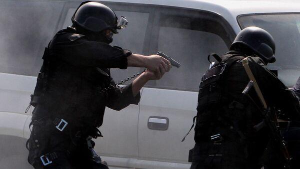 Антитеррористическая операция, архивное фото - Sputnik Azərbaycan