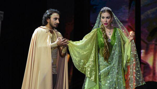 Спектакль Сары гялин - история любви к гречанке - Sputnik Азербайджан