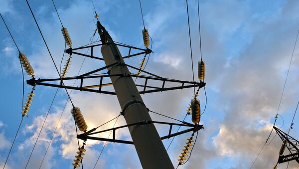 Линии электропередач, архивное фото - Sputnik Азербайджан
