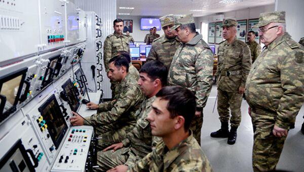 Задействован в работе новый полигон ВВС Азербайджана - Sputnik Азербайджан