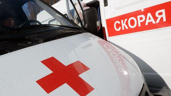 Автомобили скорой помощи в России, архивное фото - Sputnik Азербайджан