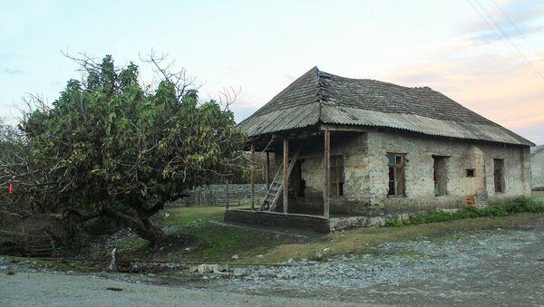 Сельское строение в Гахском районе - Sputnik Азербайджан
