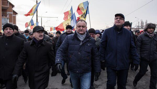 Sosialist partiyasının lideri İqor Dodon - Sputnik Azərbaycan