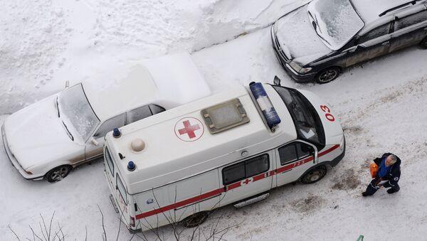 Машина скорой медицинской помощи - Sputnik Азербайджан