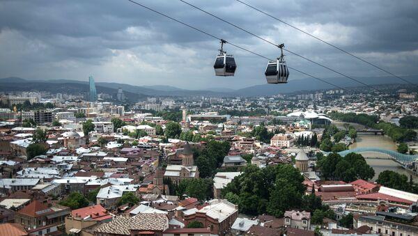 Вид на историческую часть Тбилиси, архивное фото - Sputnik Azərbaycan