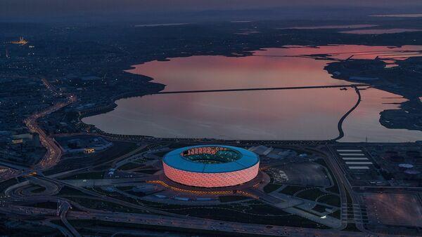 Вид на бакинский олимпийский стадион - Sputnik Азербайджан