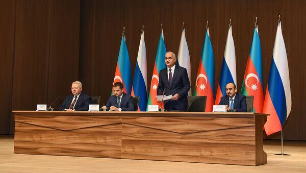 Bakıda VII Azərbaycan-Rusiya Regionlararası Forumu keçirilir - Sputnik Azərbaycan