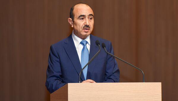 Помощник президента Азербайджана по общественно-политическим вопросам Али Гасанов - Sputnik Азербайджан