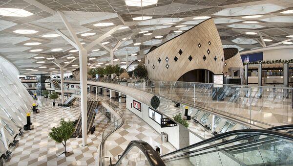 Терминал Международного аэропорта Гейдар Алиев - Sputnik Азербайджан