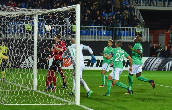 Футбольный матч Габала - Сент-Этьен в Баку - Sputnik Азербайджан