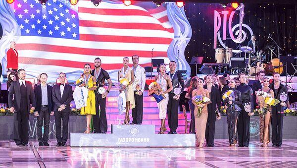 Победители Чемпионата мира по латиноамериканским танцам среди профессионалов - Sputnik Азербайджан